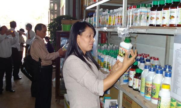 báo cáo giám sát môi trường kho thuốc bảo vệ thực vật