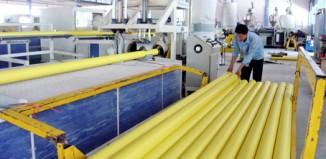 báo cáo giám sát môi trường sản xuất nhựa