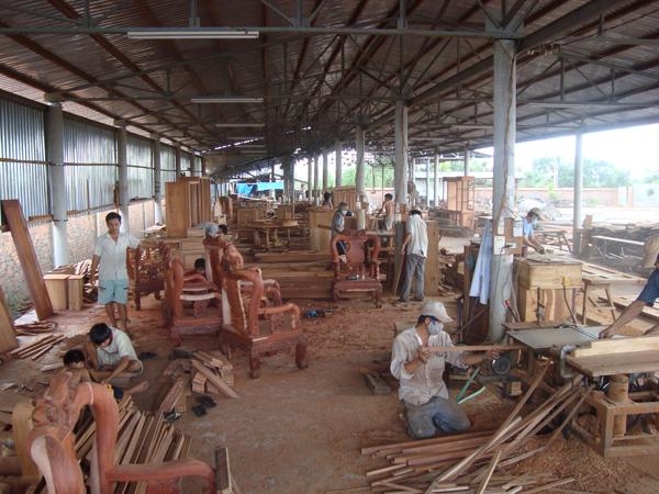 cam kết bảo vệ môi trường xưởng chế biến gỗ